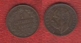 Un Centesimo 1900 R Umberto I° Regno D'Italia - 1861-1946 : Regno