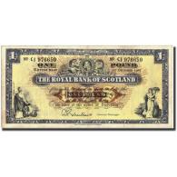 Scotland, 1 Pound, 1964-1967, 1964-1967, KM:325b, TB+ - Billets