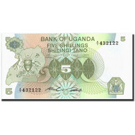 Uganda, 5 Shillings, Undated (1992), Undated (1992), KM:15, SPL - Ouganda