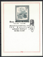 JP343     Austria, Österreich - 150.Tt. Anna Maria Erdödy, Beethoven, Floridsdorf, Wien 17.3.1987 - Poststempel - Freistempel