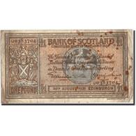 Scotland, 1 Pound, 1939, KM:91b, 1939-08-24, B - Billets