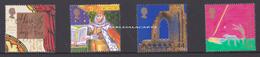 GREAT BRITAIN 1999 MILLENIUM SERIES CHRISTIANS  U.M. S.G. 2115-2118   CHRETIENS   N.S.C. YT 2133-2136 - Unused Stamps