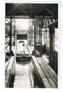 Houdeng Goegnies, Ascenseur Hydraulique, Entrée D'un Bâteau, Aval, Péniche (pk35237) - La Louvière