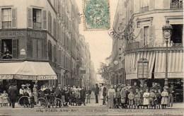 75 PARIS XVIIe  Rue Pouchet  Avenue De Clichy - Arrondissement: 17