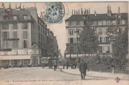 TOUT PARIS 159 - Faubourg Du Temple - Quai Valmy Perspective De La Statue De La République - Animée - Arrondissement: 10