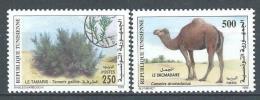 """Tunisie YT 1375 Et 1376 """" Flore Et Faune """" 1999 Neuf** - Tunisie (1956-...)"""