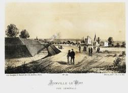 Litho  JOINVILLE LE PONT  - SIEGE De PARIS  1871 - Col.Garde Nationale Mobile De La Seine 7éme Bat.- Militaria - Sonstige