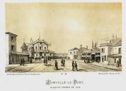 Litho  JOINVILLE LE PONT  2  - SIEGE De PARIS  1871 - Col.Garde Nationale Mobile De La Seine 7éme Bat.- Militaria - Sonstige
