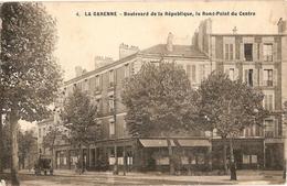 La Garenne Colombes - ? 4 - Le Boulevard De La République Et Le Rond Point Du Centre - La Garenne Colombes