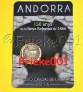 Andorra - 2 Euro 2016 Comm In Blister.(Reforma) - Andorra