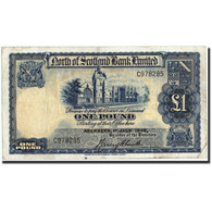 Scotland, 1 Pound, 1940, 1940-07-01, KM:91b, TB - Billets