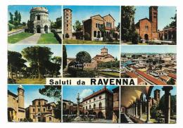 SALUTI DA RAVENNA VEDUTE   VIAGGIATA FG - Ravenna