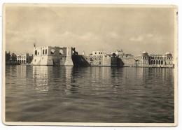 LIBIA TRIPOLI - CASTELLO E CASSA DI RISPARMIO 1937  VIAGGIATA  FG - Libië