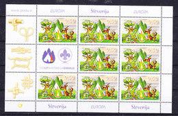 Europa Cept 2007 Slovenia 1v Sheetlet ** Mnh (scouting) (36047) - Europa-CEPT