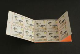 K11515-   Booklet  Singapore- 1991 - Bird Series - Heron - Cigognes & échassiers
