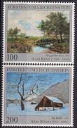 2016 Liechtenstein Mi. 1793-4 **MNH  : 30. Todestag Von Alois Ritter. - Liechtenstein