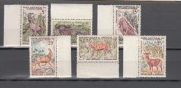 Senegal 1960,6V,set,bock,porc,buffalo,eland,koudu,deer,MH/Ongebruikt((A3352) - Gibier
