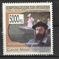 Guinee Claude Monet Painting France Painter Impressionism 1v Stamp Michel:6891 6 - Non Classificati