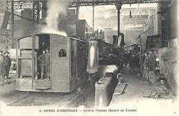 PAS DE CALAIS - 62 - ISBERGUES - Acierie Thomas - Bassin De Coulée - Isbergues