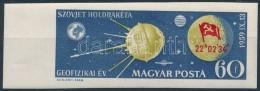 ** 1959 Holdrakéta ívszéli Vágott Bélyeg (2.000) - Stamps