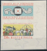 ** 1959 FIP (II.) Vágott ívsarki Szelvényes Bélyeg (3.500) - Stamps
