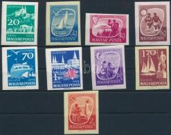 ** 1959 Balaton (I.) Vágott Sor (6.000) - Stamps