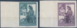 ** 1953 Bélyegnap (26.) Vágott Sor Nagy ívszéllel (9.000) - Stamps