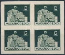 (*) * ~1930 Próbanyomat Négyestömb - Stamps