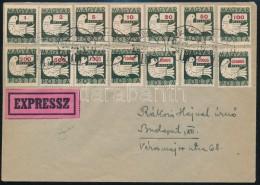 1946 Július 2. Galambos Teljes Sor  Borítékon - Stamps