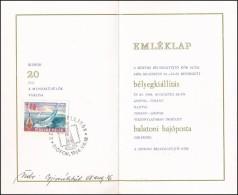 1968 Siófoki Bélyegkiállítás és Balatoni Hajóposta RITKA... - Stamps
