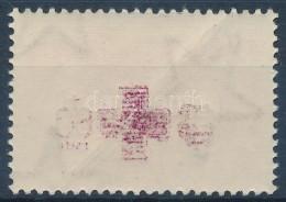 ** 1957 Vöröskereszt 60f A Piros Felülnyomat Gépszínátnyomatával - Stamps