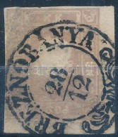 O 1858 Hírlapbélyeg Szép Felvidéki Breznóbánya... - Stamps