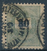 O 1889 30kr Dupla Fogazással - Stamps