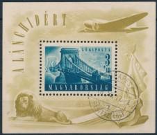 O 1948 Lánchíd (II.) Blokk (25.000) - Stamps