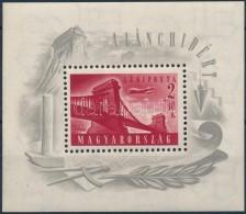 * 1948 Lánchíd (I.) Blokk (**25.000) (halvány Falcnyom/ Light Hinge Remainder) - Stamps