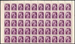 ** 1943 Hadvezérek 5P Teljes Hajtott ív (20.000) - Stamps