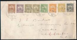1908 Túlsúlyos Levél 55f Tarifahelyes 7 Színű, 8 Bélyeges... - Stamps