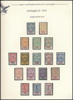 * 1914 Hadisegély     Sor (30.000) - Stamps