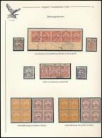 ** O 1900 Fogazási Különlegességek 28 Db Turul Bélyegen,... - Stamps