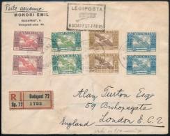 1942 Ajánlott Légi Levél Madonna-Arató-Ikarusz Vegyes... - Stamps