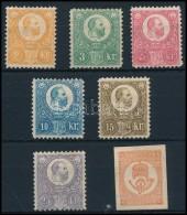 * 1883 Újnyomat Sor Hírlapbélyeggel (70.000) - Stamps