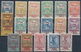 ** 1914 Hadisegély Próbanyomat Sor (80.000) - Stamps