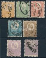 O 1871 KÅ'nyomat Sor, A 25kr Ibolya és Sötét Ibolya Színben (300.000) (apró... - Stamps