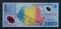 Rumänien 1999 Banknote 2000 Lei Sonnenfinsternis - Rumania