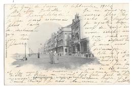 622 - BELGIQUE - BLANKENBERGHE - La Digue & Les Villas - Belgique