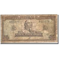 Haïti, 1 Gourde, 1992-1994, KM:259a, 1992, B - Haïti