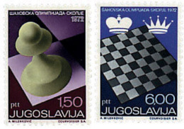Ref. 34332 * NEW *  - YUGOSLAVIA . 1972. 20th MEN CHESS OLYMPIAD AND 5th WOMEN OLYMPIAD. 20 OLIMPIADA DE AJEDREZ MASCULI - Yugoslavia