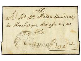 ESPAÑA: PREFILATELIA. 1772 (14-V). LA BUELLA (finca Situtada Entre Reus Y Tarragona) A BARCELONA. Marca... - Stamps