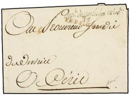 ESPAÑA: PREFILATELIA. 1795 (15 Septiembre). EJÉRCITOS FRANCESES. Cuartel General De Perpignan... - Stamps