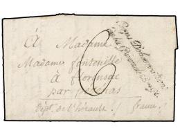 ESPAÑA: PREFILATELIA. 1801 (6 Agosto). EJÉRCITOS FRANCESES.  SALAMANCA A FRANCIA. Marca... - Stamps
